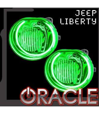 Oracle Lighting 2002-2004 Jeep Liberty ORACLE Fog Light Halo Kit