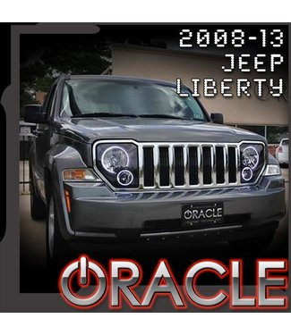 Oracle Lighting 2008-2013 Jeep Liberty ORACLE Halo Kit