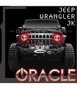 Oracle Lighting 2007-2016 Jeep Wrangler JK ORACLE Halo Kit