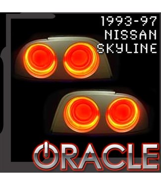 Oracle Lighting 1993-1997 Nissan Skyline ORACLE Tail Light Halo Kit