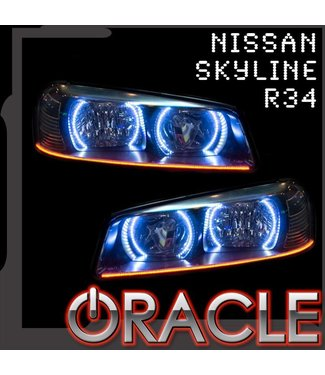 Oracle Lighting 1998-2001 Nissan Skyline R34/GTR ORACLE Halo Kit