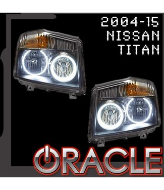 Oracle Lighting 2004-2015 Nissan Titan ORACLE Halo Kit