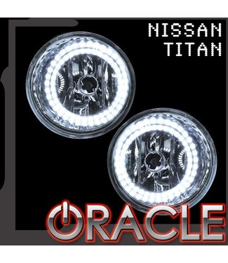 Oracle Lighting 2004-2012 Nissan Titan ORACLE LED Fog Light Halo Kit