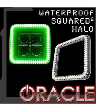 """Oracle Lighting ORACLE Waterproof 3"""" Squared Halo - (Single)"""
