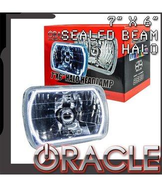 "Oracle Lighting ORACLE Pre-Installed 7"" x 6"" Sealed Beam Headlight"