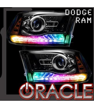 Oracle Lighting 2013-2018 Dodge Ram ORACLE Dynamic ColorSHIFT DRL Replacement + Turn Signals