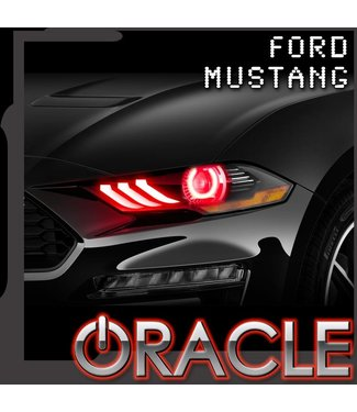 Oracle Lighting Ford Mustang 2018-2019 ORACLE ColorSHIFT Halo Kit w/ DRL