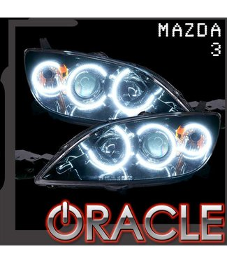 Oracle Lighting 2004-2009 Mazda 3 ORACLE ColorSHIFT Halo Kit