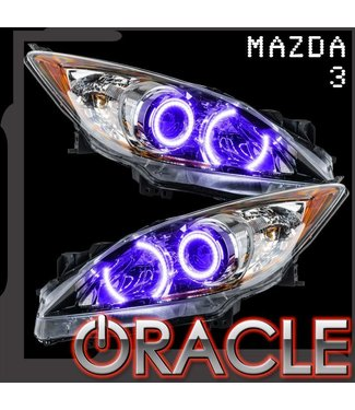 Oracle Lighting 2010-2012 Mazda 3 ORACLE ColorSHIFT Halo Kit