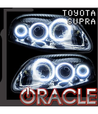 Oracle Lighting 1993-1998 Toyota Supra ORACLE LED Halo Kit