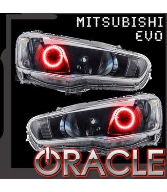 Oracle Lighting 2008-2016 Mitsubishi Evo / Lancer ORACLE LED Halo Kit - Projector/HID