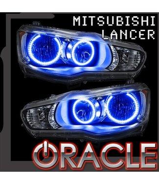 Oracle Lighting 2008-2016 Mitsubishi Evo / Lancer ORACLE LED Halo Kit - Non Projector/HID