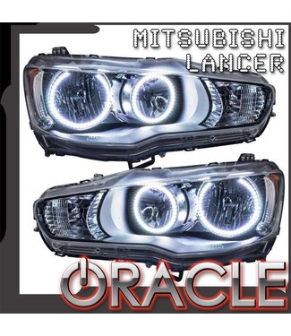 Oracle Lighting 2008-2017 Mitsubishi Lancer Pre-Assembled Head Lights