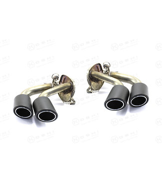 Koshi Group Alfa Romeo Giulia QV / Stelvio QV Exhaust Pipes
