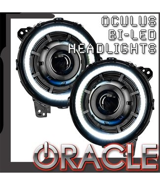 Oracle Lighting ORACLE Lighting OCULUS™ BI-LED Projector Headlights for Jeep Wrangler JL/JT