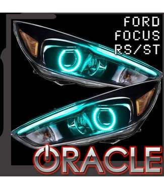 Oracle Lighting 2015-2017 Ford Focus RS/ST ColorSHIFT Halo + DRL Kit
