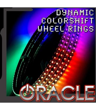 Oracle Lighting ORACLE LED Illuminated Wheel Rings - ColorSHIFT Dynamic