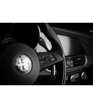 Koshi Group Alfa Romeo Giulia / Stelvio Paddle Shifters Cover