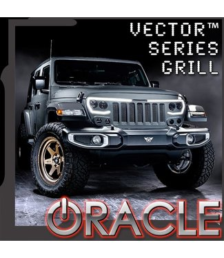 Oracle Lighting ORACLE Lighting VECTOR™ PRO-SERIES Full LED Grill - Jeep Wrangler JL/JT