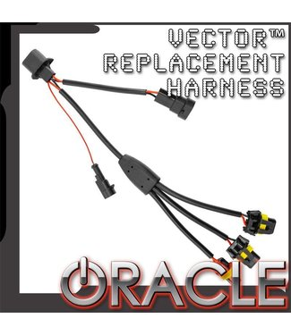 Oracle Lighting ORACLE VECTOR™ Replacement Headlight Wiring Harness - JL