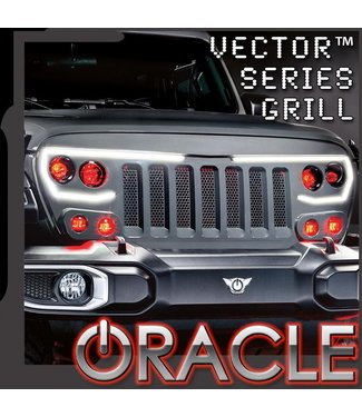 Oracle Lighting ORACLE Lighting VECTOR™ Grill Demon Eye ColorSHIFT Projector Conversion Kit