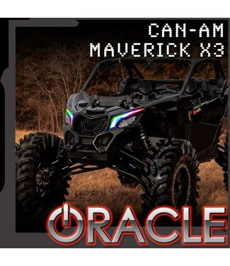 Oracle Lighting 2017-2021 ORACLE Can-Am Maverick X3 Dynamic ColorSHIFT DRL Kit