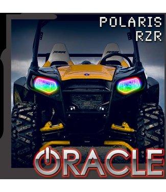 Oracle Lighting 2008-2019 Polaris RZR 570/800/900 ORACLE Dynamic RGB+W Headlight Halo Kit