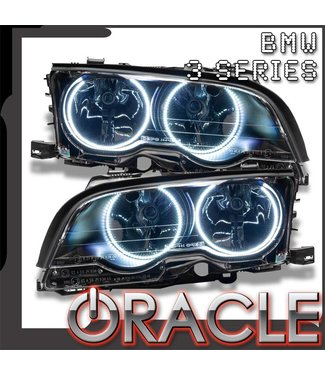 Oracle Lighting 1999-2001 BMW 3 Series Coupe Pre-Assembled Head Lights - (Halogen)