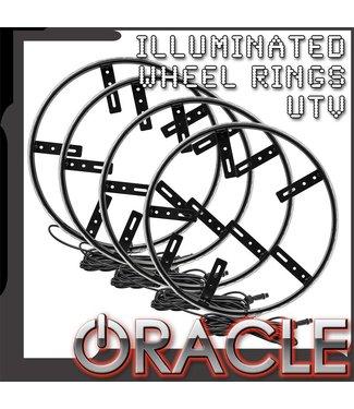 Oracle Lighting ORACLE Lighting LED Illuminated Wheel Rings for UTV, ATV & SXS Vehicles