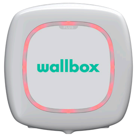 Wallbox status rood