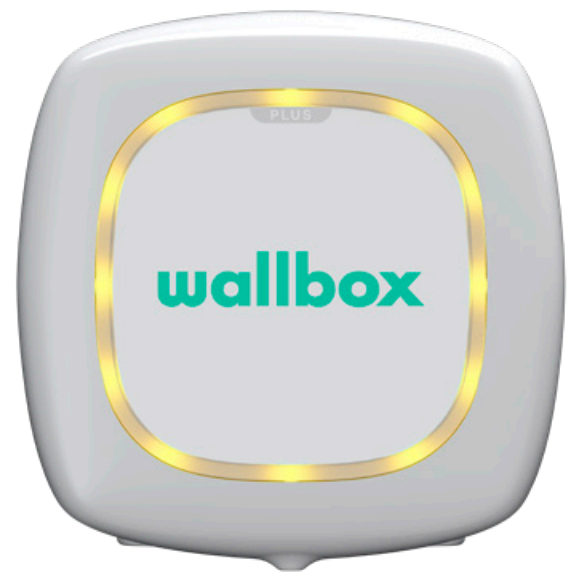 Wallbox status geel