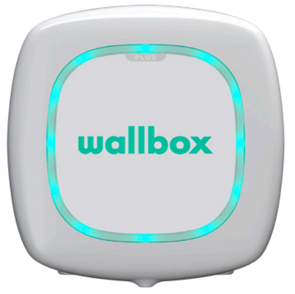 Wallbox status turquoise
