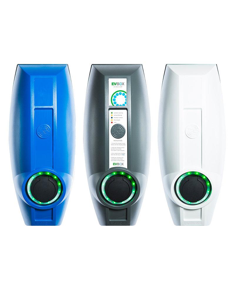 EVBox BusinessLine enkele connector- 7,4 kW oplaadpunt voor zakelijk gebruik
