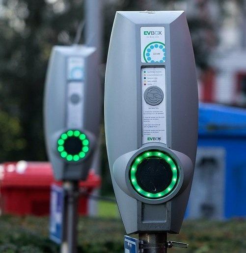 Laadpas voor openbaar opladen van de elektrische auto