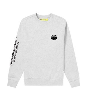 LOGO SWEAT ASH