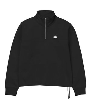 TEAM HALF-ZIP BLACK