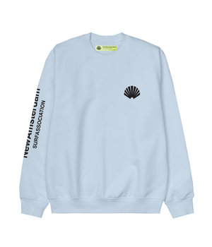 LOGO SWEAT LIGHT BLUE