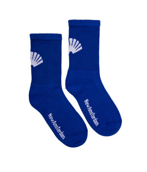 LOGO SOCKS ROYAL BLUE