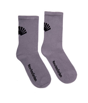 LOGO SOCKS GRAY