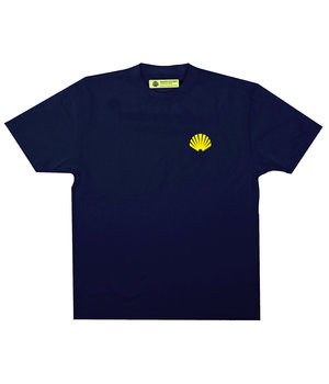 LOGO TEE NAVY/YELLOW