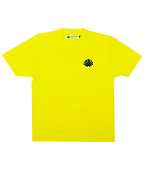 LOGO TEE YELLOW/NAVY