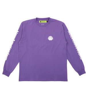 LOGO LONGSLEEVE GRAPE