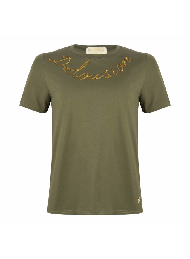 Top Lumi Army Green