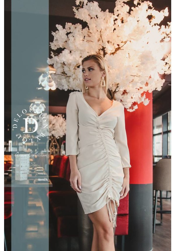 Dress Jadey Beige