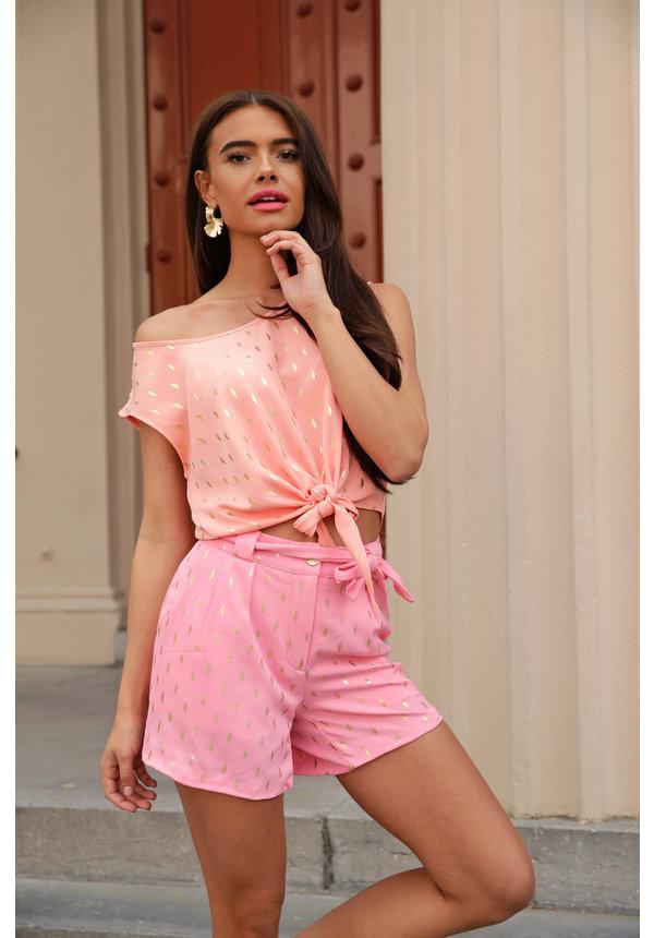 Short Mia Pink Gold