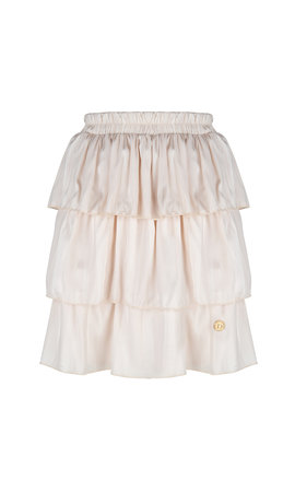 Delousion Skirt Semm Beige