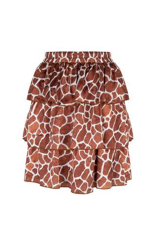 Delousion Skirt Semm Giraffe