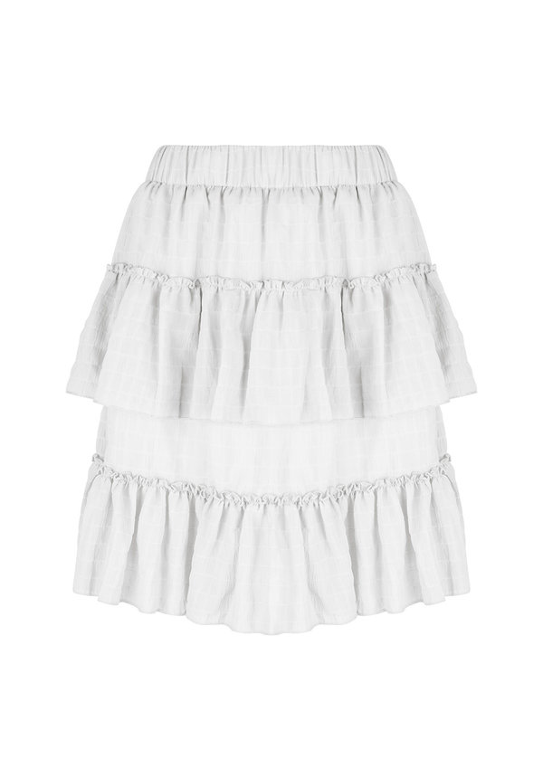 Skirt Stellan Ruffle Offwhite
