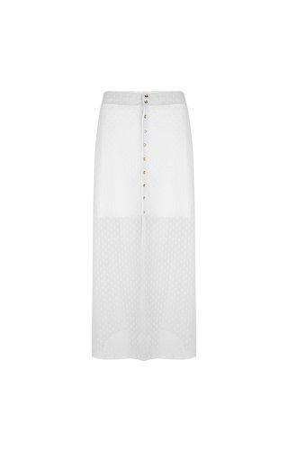 Delousion Skirt Nolan Offwhite