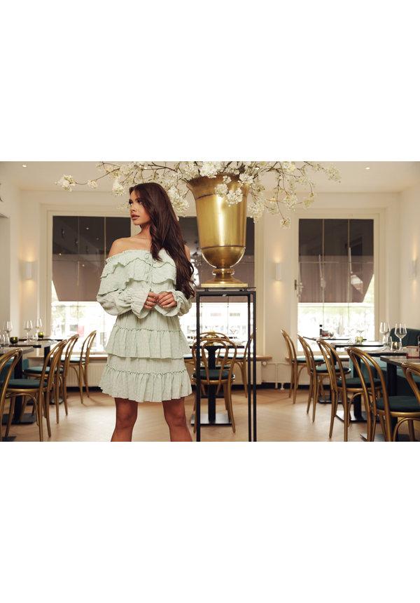 Skirt Stellan Ruffle Mint